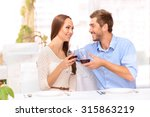 everything for you. nice happy... | Shutterstock . vector #315863219
