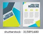 vector of template design for... | Shutterstock .eps vector #315891680