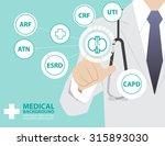 medicine doctor  working with... | Shutterstock .eps vector #315893030
