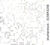 gray white random dots... | Shutterstock .eps vector #315893258