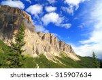Vertical Cliffs Of Sella Massi...