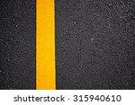 asphalt road with separation... | Shutterstock . vector #315940610