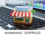 app store  internet market ... | Shutterstock . vector #315954110