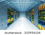 data warehouse and information... | Shutterstock . vector #315954134