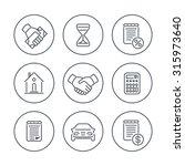 leasing  banking  loan  lending ... | Shutterstock .eps vector #315973640