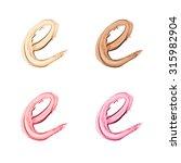 beauty alphabet set  ...