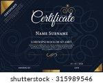 vector illustration of gold... | Shutterstock .eps vector #315989546