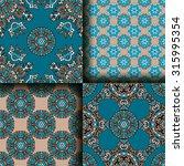 vector seamless pattern set...   Shutterstock .eps vector #315995354