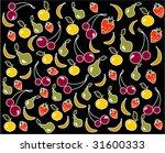 fruit background  vector...   Shutterstock .eps vector #31600333
