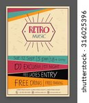 Retro Music Party Celebration...
