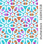 vector geometric pattern with... | Shutterstock .eps vector #316041518