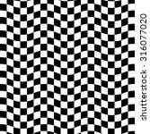 black and white optical... | Shutterstock .eps vector #316077020