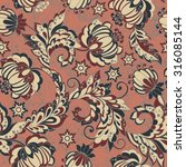 elegance seamless pattern with... | Shutterstock .eps vector #316085144