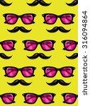 vintage hipster style... | Shutterstock .eps vector #316094864