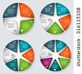 vector infographic design... | Shutterstock .eps vector #316115108