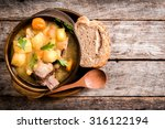 Homemade Stew Soup With...