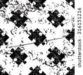puzzle piece pattern  grunge ...