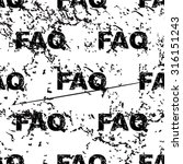 faq pattern  grunge  black...