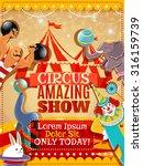 Traveling Circus Amazing Show...