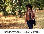 street fashion concept  ... | Shutterstock . vector #316171988
