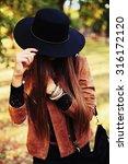 street fashion concept  ... | Shutterstock . vector #316172120