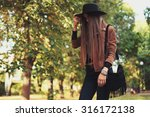 street fashion concept  ... | Shutterstock . vector #316172138