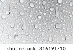 background of water droplets on ... | Shutterstock .eps vector #316191710