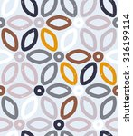 vector geometric pattern with...   Shutterstock .eps vector #316199114
