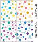 pattern design. vector... | Shutterstock .eps vector #316199960