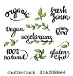 vector lettering    organic...