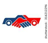 car selling. | Shutterstock .eps vector #316212296