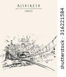 rishikesh  uttarakhand  india.... | Shutterstock .eps vector #316221584