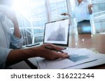 business documents on office... | Shutterstock . vector #316222244