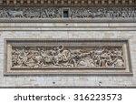 paris  france   july 9  2015 ... | Shutterstock . vector #316223573