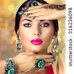 Beautiful Fashion Indian Woman...