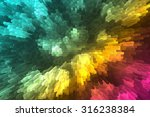 multi colored background with... | Shutterstock . vector #316238384
