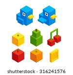 isometric pixel art assets for...