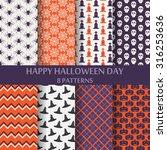 different halloween vector... | Shutterstock .eps vector #316253636