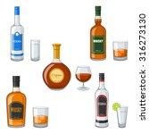 spirits | Shutterstock .eps vector #316273130