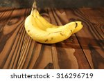 fresh yellow bananas on the... | Shutterstock . vector #316296719