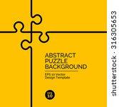 abstract flat design concept... | Shutterstock .eps vector #316305653
