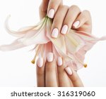 Beauty Delicate Hands With...