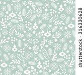seamless christmas background  | Shutterstock .eps vector #316330628