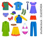 clothes | Shutterstock .eps vector #316335404