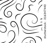 black and white abstract hand...   Shutterstock .eps vector #316347440