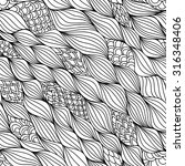 vector seamless abstract... | Shutterstock .eps vector #316348406
