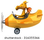 fun dragon | Shutterstock . vector #316355366