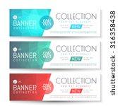 vector banner  gift  voucher... | Shutterstock .eps vector #316358438