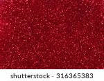 red glitter texture christmas... | Shutterstock . vector #316365383