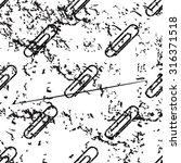 paperclip pattern  grunge ...